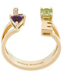 Delfina Delettrez Love Ring - Metallic