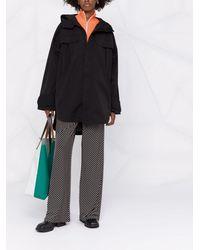 Holzweiler Oversized Hooded Jacket - Black