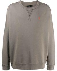 AllSaints ロゴ スウェットシャツ - グレー