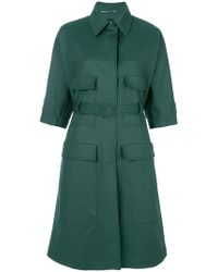 Rochas - Short Sleeve Coat - Lyst