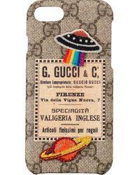 Gucci グッチ クーリエ Iphone 8 ケース - マルチカラー