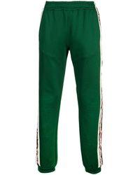 Gucci Side Stripe Track Pants - Green