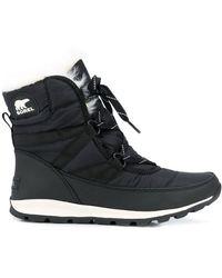 Sorel レースアップ ブーツ - ブラック
