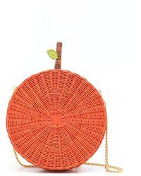 Serpui Bandolera Orange de paja - Rojo