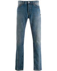 Marcelo Burlon Slim-fit Jeans - Blue