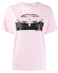 Golden Goose Deluxe Brand グラフィック Tシャツ - ピンク