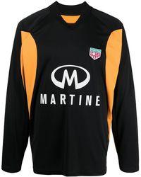 Martine Rose ロゴ スウェットシャツ - ブラック