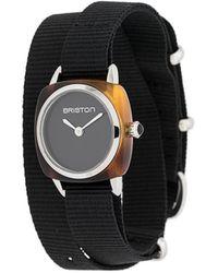 Briston Clubmaster Wrap 腕時計 - ブラック