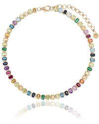 SHAY - Rainbow Eternity ネックレス 18kゴールド - Lyst