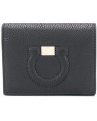 Ferragamo ガンチーニ 財布 - ブラック
