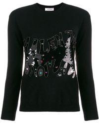 Valentino - Sequin Embellished Jumper - Lyst