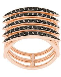 Shaun Leane - Quill Black Spinel Ring - Lyst