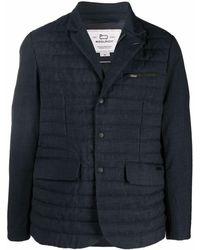 Woolrich キルティング ジャケット - ブルー