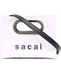 Sacai ロゴ ミニバッグ - マルチカラー