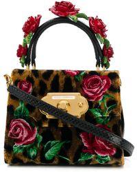 Dolce & Gabbana Сумка-тоут С Розами - Многоцветный
