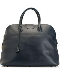 Hermès Сумка-тоут Bolide 1995-го Года Pre-owned - Синий