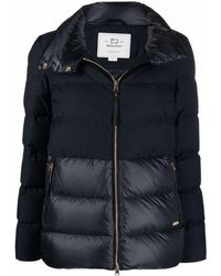 Woolrich Luxe Puffy パデッドジャケット - ブルー