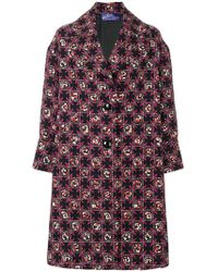 Emilio Pucci - Printed Tailored Coat - Lyst