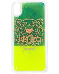 KENZO タイガー Iphone Xs Max ケース - グリーン