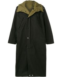 Marni オーバーサイズ レインコート - ブラック