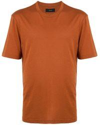JOSEPH クルーネック Tシャツ - オレンジ