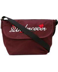Undercover - Embroidered Logo Shoulder Bag - Lyst
