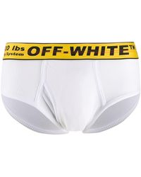 Off-White c/o Virgil Abloh Industrial Waistband Boxer Briefs - White