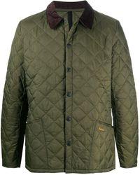 Barbour Liddesdale キルティングジャケット - グリーン