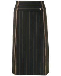 Versace ペンシルスカート - ブラック