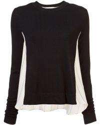 Nicole Miller - Departure Stripe Sweater - Lyst