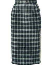 Guild Prime - Check Pencil Skirt - Lyst