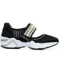 Suecomma Bonnie - Jewel Embellished Mesh Sneakers - Lyst