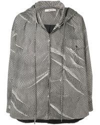 Damir Doma - Printed Hooded Jacket - Lyst