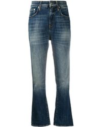 Department 5 High-rise Flared Jeans - Blue