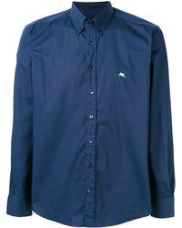 Etro Button-down-Hemd - Blau