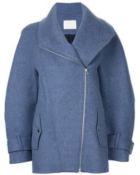 Dion Lee - Zipped Peacoat - Lyst