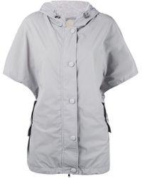 Eleventy - Shortsleeved Hooded Jacket - Lyst