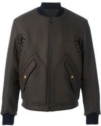 Tim Coppens - Ma-1 Laced Bomber Jacket - Lyst