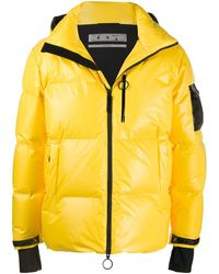 Off-White c/o Virgil Abloh Ski Puffer Jacket - Yellow