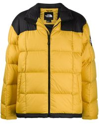 The North Face Quilted Puffer Coat - Yellow