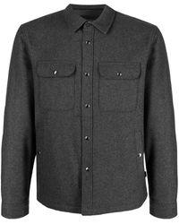 Woolrich Куртка-рубашка - Серый