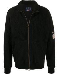 Paul & Shark ロゴ スウェットシャツ - ブラック