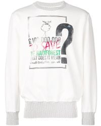 Vivienne Westwood - What Does It Mean Sweatshirt - Lyst