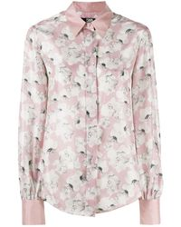 Karl Lagerfeld - Orchid プリント シャツ - Lyst