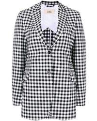 Ports 1961 - Checkered Blazer - Lyst
