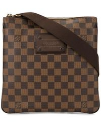 Louis Vuitton Pre-owned Pochette Pratt Brooklyn Crossbody Bag - Brown