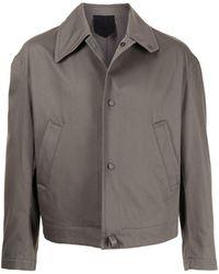 Ferragamo Куртка-рубашка С Косым Воротником - Зеленый