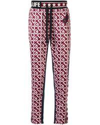 Dolce & Gabbana Спортивные Брюки С Логотипом - Красный