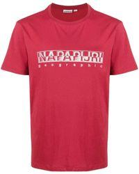 Napapijri ロゴ Tシャツ - レッド