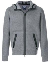 Woolrich Zip-up hooded sweatshirt - Gris
